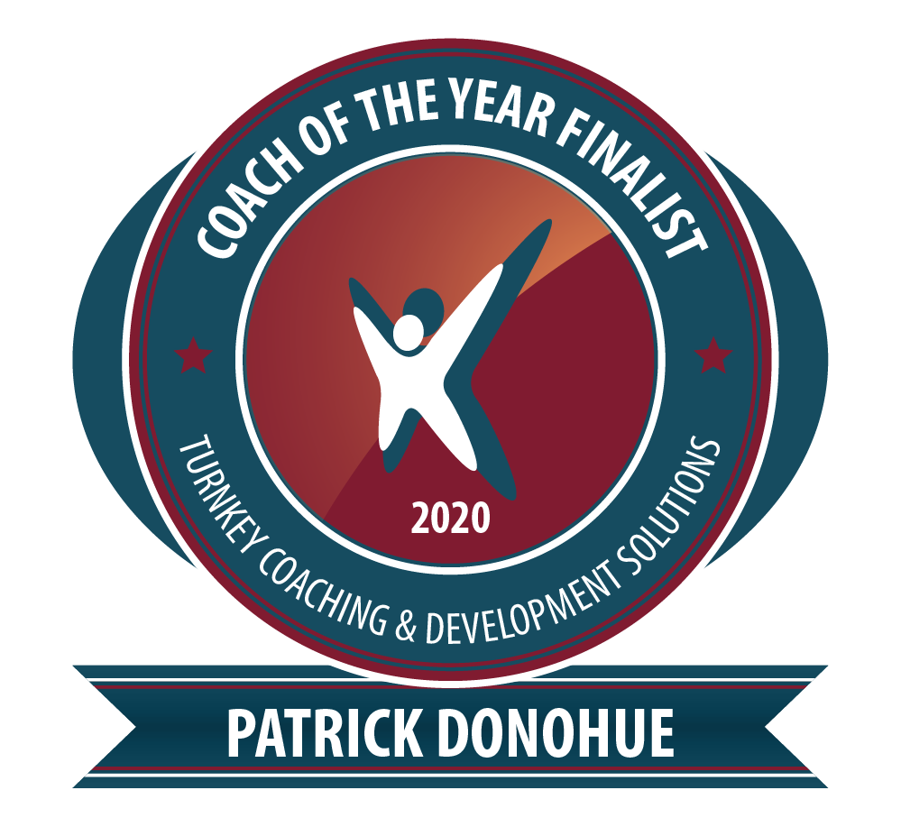 nominated, coach of the year, patrick donohue